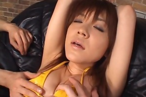 cougar in mesh nylons has a forceful agonorgasmos