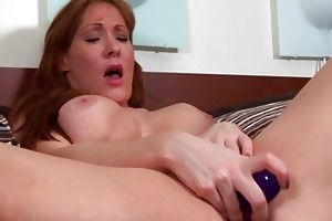naughty golden-haired d like to fuck whore toys