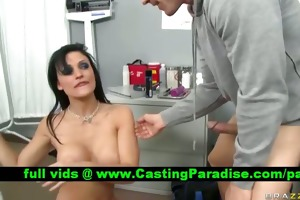 aletta ocean dark brown doctor blowjobs dong