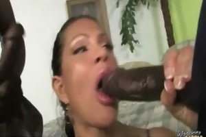 awesome interracial sex dark shlong and sexually