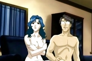 anime mamma sexy engulfing unbending shlong and