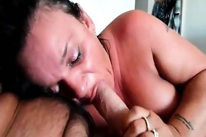 sloppy oral-service and cowgirl sex