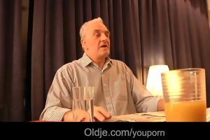 older stud david copulates lascivious anita