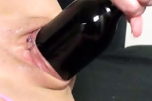 dilettante doxy devours a wine bottle and monster