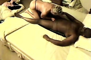 interracial sex granny emma on spy camera