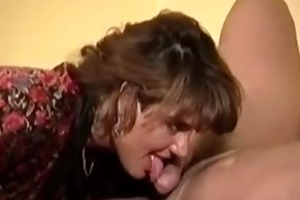 your wife with a mouthfull of cream