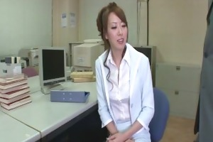 stunning, sexy and lengthy legged secretary