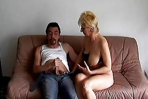 mad old mamma acquires drilled hard