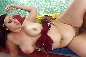 indian wife opens her vagina for a big schlong