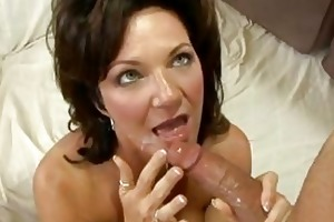 excited milf deauxma gets a recent load of cum in