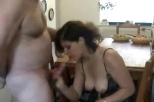 milf wife gives astounding blowjob