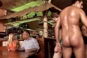 fuckfest in a german bar