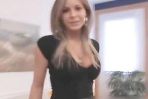 hawt blonde french gf anal stuffed movie part2