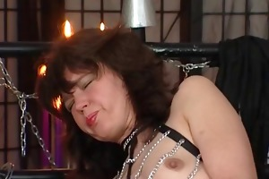 the slave aged doxy with petite scoops