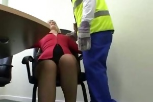 aged wife rammed small honey