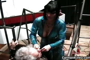 two hawt lewd hawt body latex mother i women part4