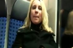 european hottie masturbates on the metro