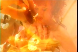 big wobblers honey playing with banana &;