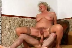 some other one of granny norma fucking in nylons