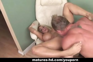 concupiscent mother i acquires muff stretched by