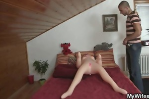 excited chap screws his gfs mother