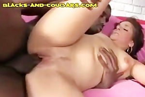 mother i acquires darksome facial after fuck and