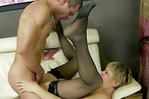 granny fucking her younger paramour