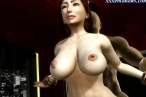 breasty animated mother i with nylons