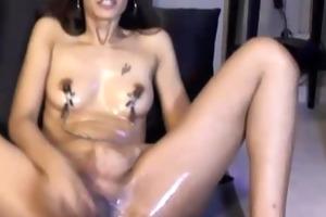 spruce d like to fuck deb masturbates with large