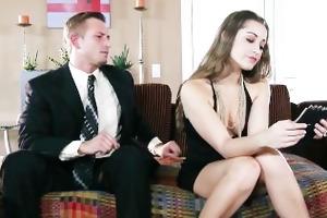 youthful wife dani daniels fucks her husbands