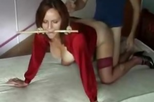 perverted wife receives drilled doggy position
