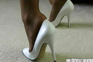 lascivious leggy mother i talks obscene to about