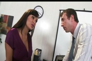 busty mother i lisa ann bonks coworker in
