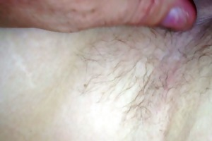 her soft breast, curly pit, hairy love tunnel