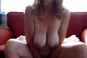 sexy wife presents her biggest love melons