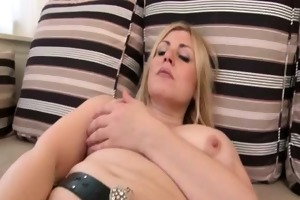 breasty blond slut receives sexually excited