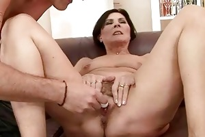 sexually excited granny getting drilled gorgeous