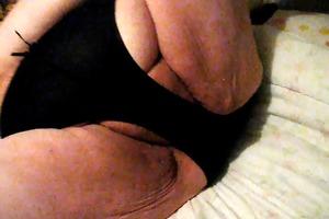 black pants and teasing