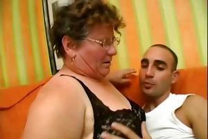 this older slut is excited