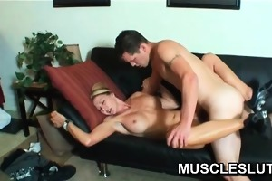 muscle playgirl drilled hard