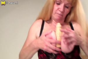 squirting grandmother truly makes it is juicy