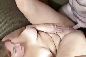 redhead liisa is getting her aged cum-hole drilled