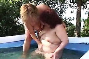 finger group-fucked lesbo big beautiful woman